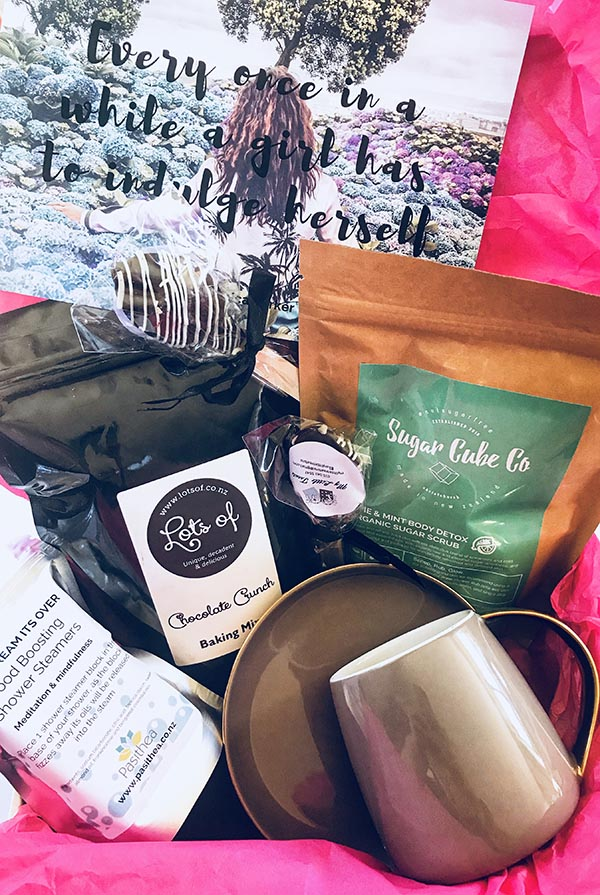 March Indulge Inside Box